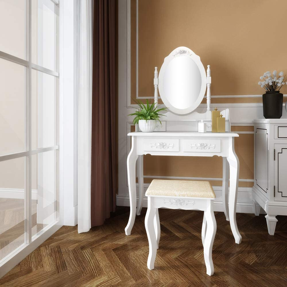 MTFY Vanity Set with Touch Screen Dimming Mirror