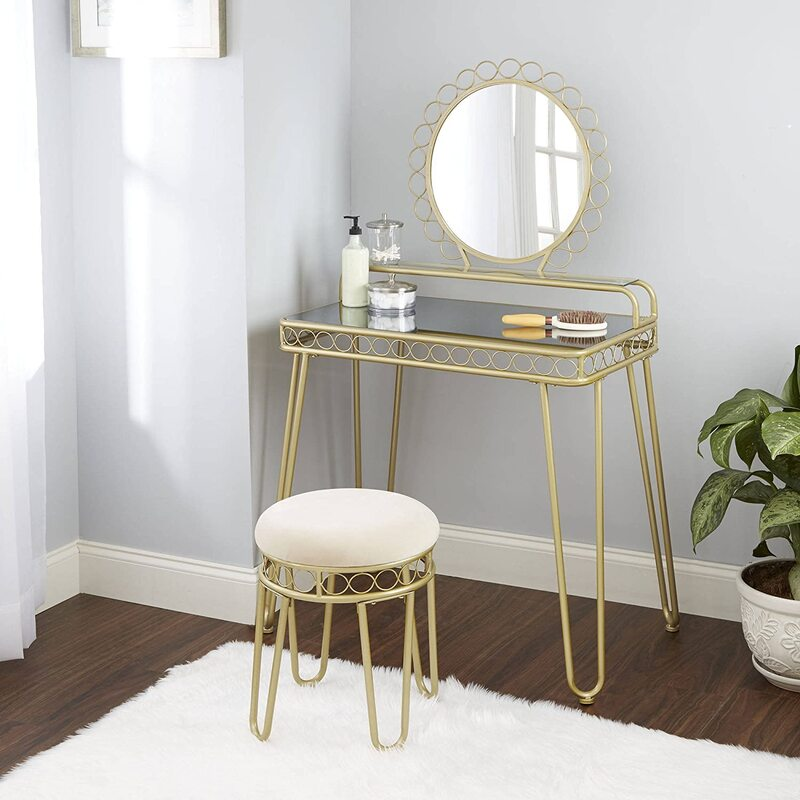 Top 10 Mirrored Makeup Vanity Table 2020