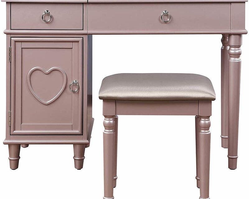 Top #10 Makeup Vanity Table Without Mirror Review 2021