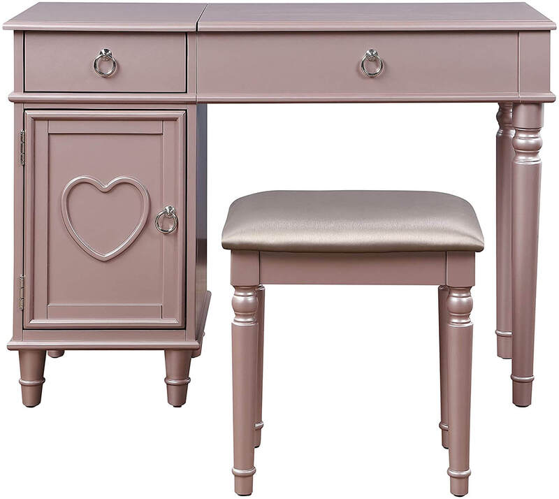 makeup vanity table without mirror-vanity table no mirror