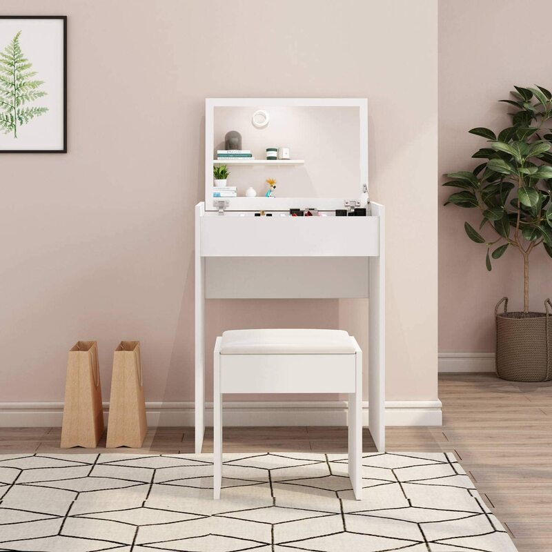 Best Corner Vanity Tables with Mirror Price and Reviews 2021
