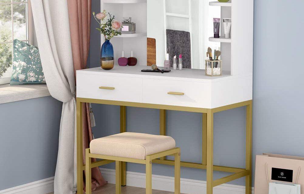 Top 10 Vanity Table Under $200 Review 2021