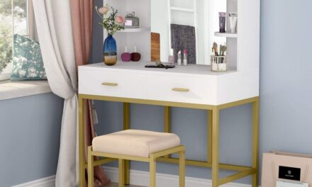 Top 10 Vanity Table Under $200 Review 2021
