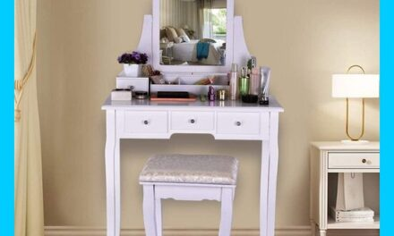 Top 10 Vanity Tables under $100 Review 2021