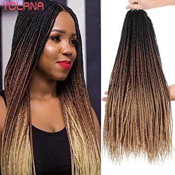 hin Senegalese Twist Crochet Hair