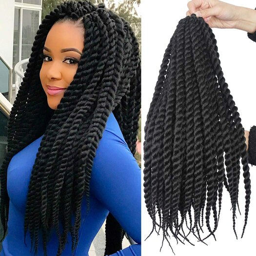 Images of Senegalese Twists